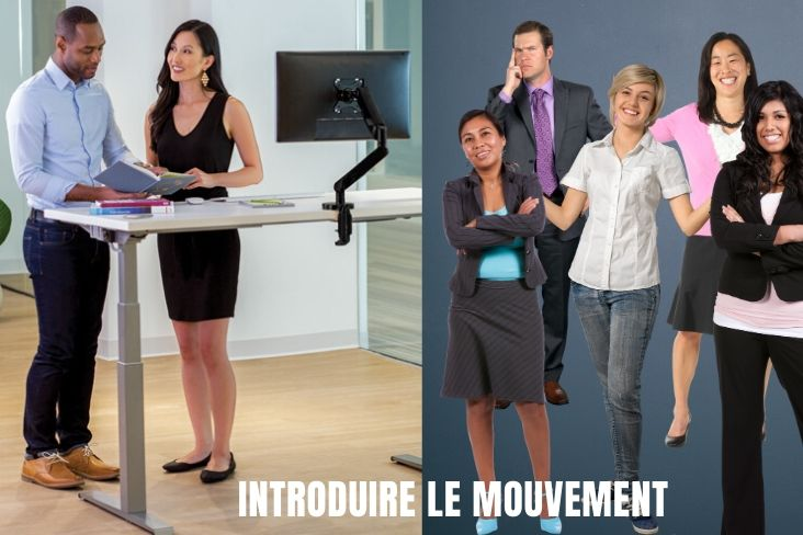 Introduire le mouvement au travail avec un bureau assis-debout